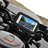 """Rupse 5"""" impermeabile 360 moto e bici con borsa Custodia/supporto per navigatore satellitare GPS"""