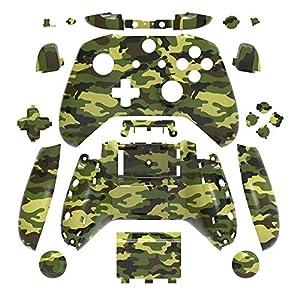 WPS Hydro Dipped Ersatz Gehäuse Shell Set für Xbox One S Slim (3,5mm Kopfhörerbuchse) Controller für 1708 Version…