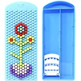 Majik Puzzle Pencil Box For Multipurpose Use, Kids School Accessories, Pencil Box For Schools, Stationary Item For School, Return Gift Items For Kids Boys And Girls, 45 Gram, Pack Of 1 (Blue)