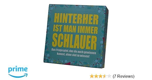 Spiele Hinterher ist man immer schlauer Kartenspiel ab 2 Spieler Spiel Deutsch 2014