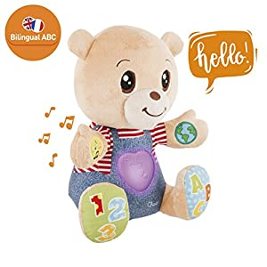 Chicco-Teddy Pooh Des Emotions bilingue, 00007947000030