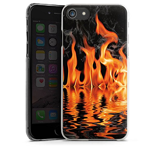 Apple iPhone X Silikon Hülle Case Schutzhülle Feuer BBQ Grillen Hard Case transparent