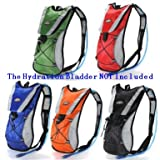 Hydration Pack Water Rucksack Backpack Cycling Bladder Bag...