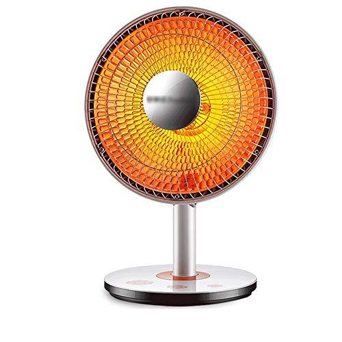 DUXX Calentadores, Calentador eléctrico de bajo Consumo, Calentador, Ventilador, Mini Calentador, Oficina en el hogar, Ventilador eléctrico, Horno para Hornear Calentador (Color : Blanco)