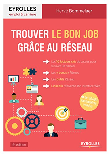 Trouver le bon job grâce au réseau: Les 10 facteurs clés de succès pour trouver un emploi. Les bonus Réseau. Les outils Réseau. LinkedIn réinvente son interface web par Hervé Bommelaer