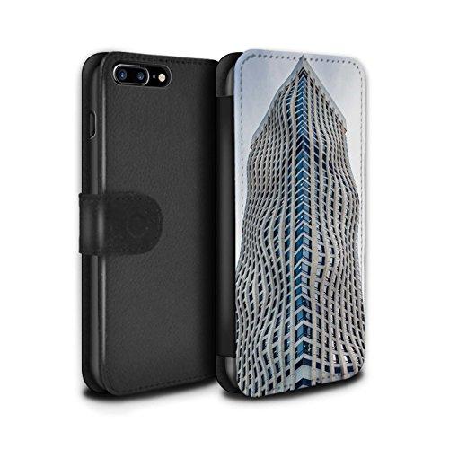 Stuff4 Coque/Etui/Housse Cuir PU Case/Cover pour Apple iPhone 8 Plus / Pack 29pcs Design / Imaginer Collection Entreprise Plein Essor