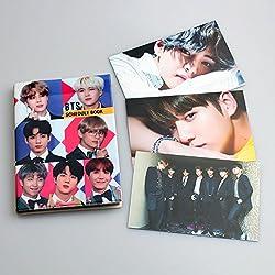 BTS Bangtan - Cuaderno de notas para niños (2018, 3 piezas, impresiones HD en ambos lados) BTS Group