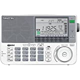 Sangean ATS 909 X Radio numérique FM Stéréo AM / SW / PLL Horloge Alarme Haut-parleur Antenne Ecouteurs Argent
