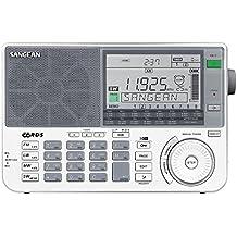 Sangean ATS-909 X - Radio de 1.5 W (LCD, estéreo), blanco