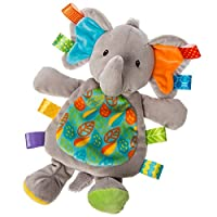 Mary Meyer 40181 Taggies Little Leaf Elephant Lovey Soft Toy