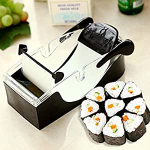 Demiawaking Macchina per Sushi Facile Cutter Roller DIY Cucina Attrezzo per Onigiri Roll