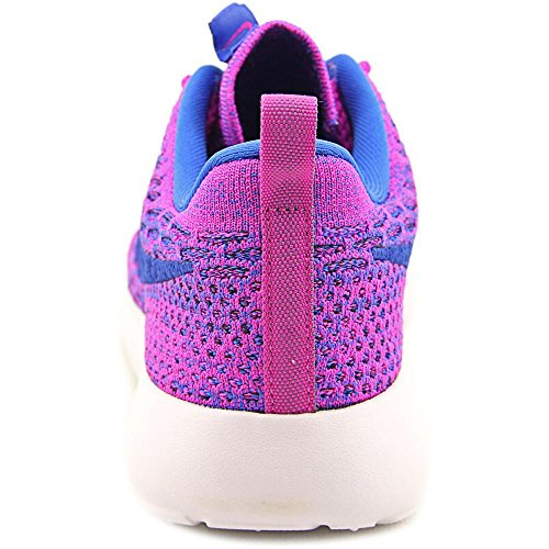 Nike Roshe Flyknit, Chaussures de running entrainement femme - fuchsia flash/gm royal-blk-vnc