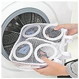 Schuhe Waschen Lager Netz Tasche Waschen Maschine Reinigung Erschütterungssicher Aufhängen Trocken Schuh Sack