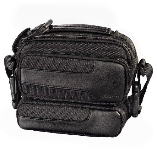 Hama Kameratasche für eine kompakte Systemkamera/Camcorder, Amalfi Duo 110, Schwarz