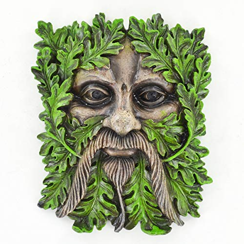 Fiesta Studios Albus The Tree Ent - Placa para jardín, hogar, Wicca Celtic Pagan Magic Greenman H19 cm