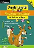 Ursula Lauster: Neue Konzentrationsspiele f�r die 3. und 4. Klasse Bild