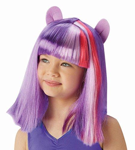 My little Pony Kinder Perücke Twilight Sparkle (Sparkle Halloween Pony My Kostüme Little Twilight)