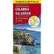 MARCO POLO Karten 1:200.000: MARCO POLO Karte Italien Blatt 13 Kalabrien 1:200 000
