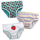 Vaenait Baby 86-122 Maedchen unterhosen 3-Packung Slips set Briefs Mint Berry S