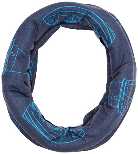HAD Original Fleece Funktionstuch, Nordsee Blue-Fleece: Black, one size