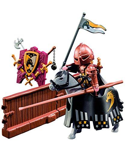 PLAYMOBIL Caballeros - Figura de Torneo de la Orden del Caballo Salvaje (5357) 2