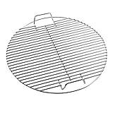 Huaxiong Grille ronde en acier inoxydable pour barbecue dia44,5cm Huaxiong Grille ronde en acier inoxydable pour barbecue 44,5cm Round Silver