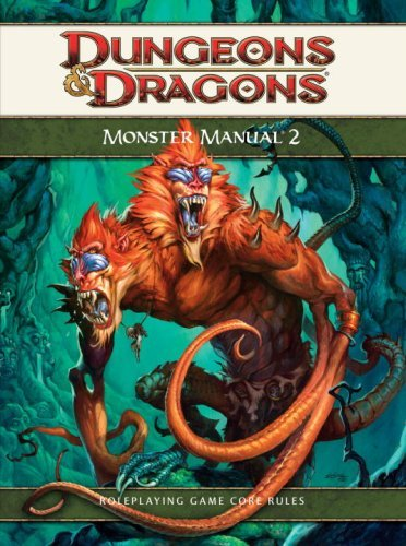 Monster Manual 2: A 4th Edition D&d Supplement (Dungeons & Dragons) by Wizards RPG Team (2009-05-19)