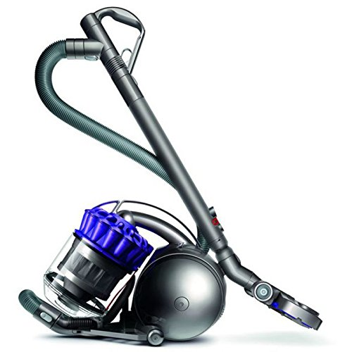 Dyson Ball Parquet (600 W, A, 28 kWh, 193 W, Aspiradora cilíndrica, Sin Bolsa), 1.8 litros, 80 Decibeles, Azul, Gris