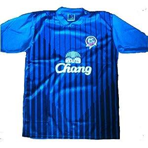 filex Thailändischer Verein-Fußball – Chonburi Fußball-Verein-Spitzen-T-Shirt