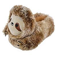 Lora Dora Girls Boys Novelty 3D Plush Slippers Sloth