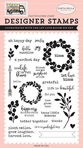 Carta Bella Papier Let Love Bloom Stempel -