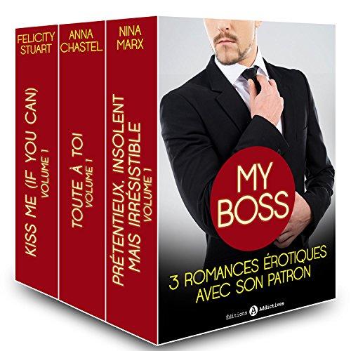 Couverture du livre My boss, 3 romances érotiques avec son patron
