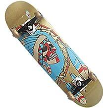 GZD Tablas de Skate de Cuatro Patines Tablero de Eje de Doble Eje Tablero de Calle Tablero de Maple del Noreste Niños Adultos , 1