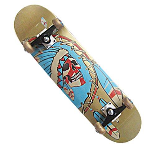 XMJ quattro - ruote Skateboards doppio Rocker Consiglio Strada pennello Streetboard Nordest Maple Consiglio Adult Children universale , 2