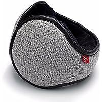MEICHEN-inverno piscina termale cuffie earmuff earmuff ripiegamento coperchio orecchio lana maglia uomini,grigio chiaro