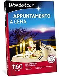 WONDERBOX Cofanetto Regalo - APPUNTAMENTO A Cena - 1160 CENE per 2 Persone