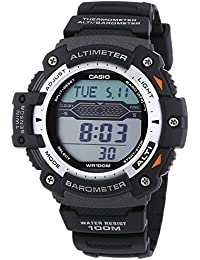 Casio Collection – Herren-Armbanduhr mit Digital-Display und Resin-Armband – SGW-300H-1AVER