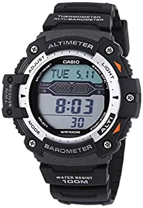 Casio Collection Montre Homme Digitale avec Bracelet en Résine – SGW-300H-1AVER