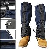Xcellent Global 1 Paire de guêtre étanche et haute, couvre-bottes, vêtement de pluie unisexe pour couvrir le pied et la cheville en vélo, en bateau, à la pêche, à ski, en randonnée, en escalade HG153B