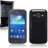 Terrapin - Samsung Galaxy Ace 3 TPU Gel Skin Case / Cover - Smoke Black