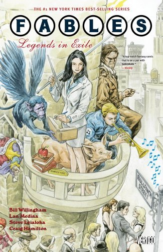 Fables TP Vol 01 Legends In Exile (Fables (Paperback)) by Bill Willingham (2010-10-08)