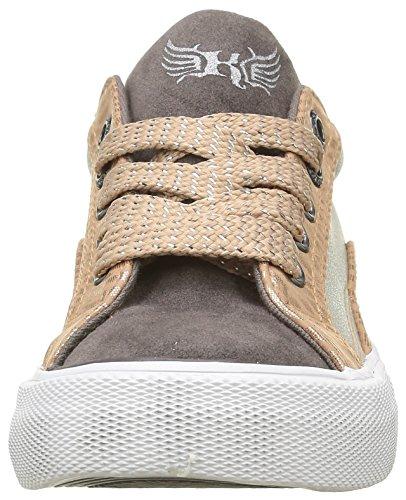 Kaporal Mädchen Amelo Sneaker Grau - Gris (Gris Argent)