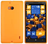 Mumbi 483 Coque de protection pour smartphone Lumia 930 TPU transp. orange orange