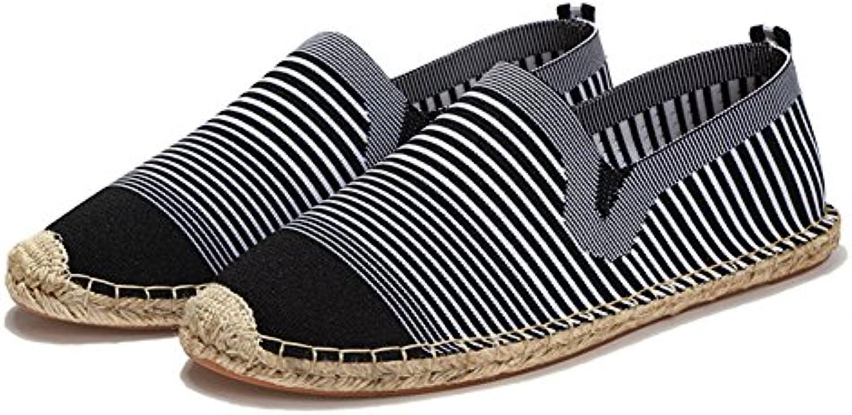 Alpargatas Unisexo Comodidad Moda China Ponerse Zapatos de Lona  -