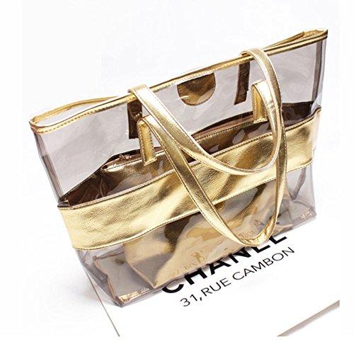 Windwelle, Borsetta da polso donna oro gold gold