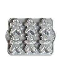 Nordic Ware 86948 Cake Mould Design Gingerbread bambini fusion