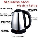 Shoponclick Dura Flame Electric Kettle/Kettle/Tea Kettle/Tea and Coffee Maker/Milk Boiler/Water Boiler/Tea Boiler/Coffee Boiler/Water Heater/Stainless Steel Kettle/2 Liter