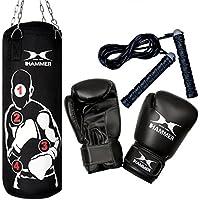 Hammer Sparring Pro Pack sac + gants Noir 80