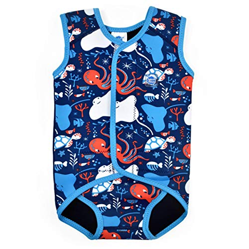 Splash About Baby Wrap Wetsuit Traje De Neopreno, Bebé-Niños, Under The Sea, 6-18 Meses