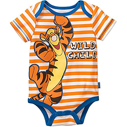 oh Tigger Baby Boys Bodysuit Dress Up Outfit (12 Months) (Winnie The Pooh Baby-outfit)